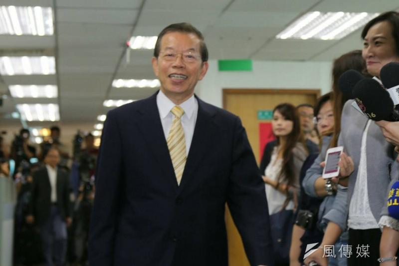 民進黨中常委謝長廷回應馬習會。(資料照片,陳明仁攝)
