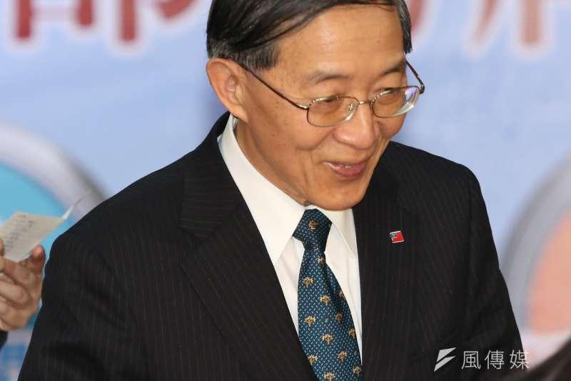 外交部長林永樂。(資料照片,余志偉攝)
