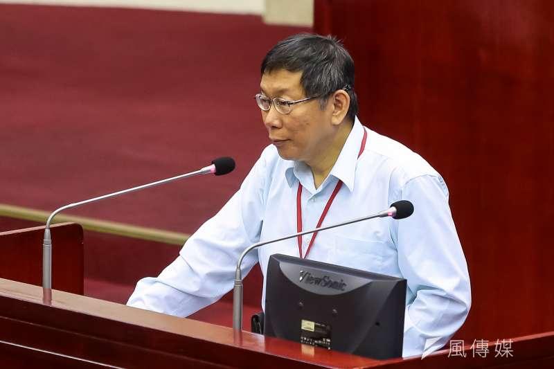 台北市長柯文指示秘書長蘇麗瓊組成專案小組,針對北市府加班做整體性規劃處理。(顏麟宇攝)