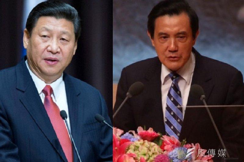 兩岸領導人習近平、馬英九在新加坡展開歷史性會晤。(新華社/蔡耀徵攝)