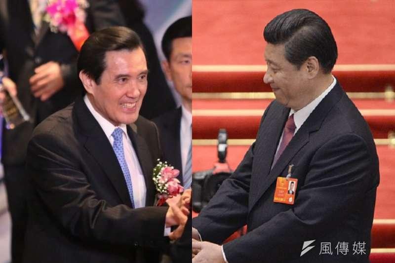 兩岸領導人即將在新加坡會面,馬英九總統明確傳遞民主自由原則。(蔡耀徵/中新社)