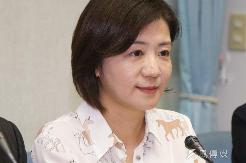國民黨籍立委王育敏認為台灣應跟進美國腳步,修法禁用人工反式脂肪,但她也表示,目前台灣使用反式脂肪的情況沒有美國那麼嚴重,改變速度可以更快。(資料照,陳明仁攝)