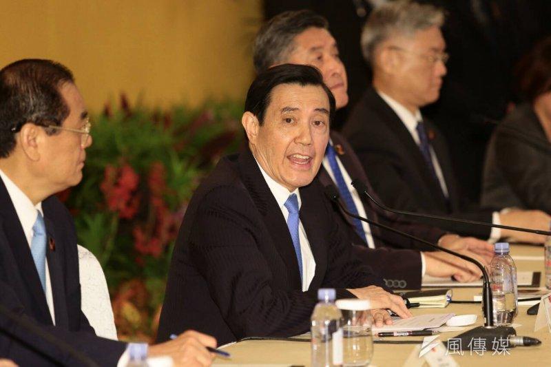 馬習會後,在野及第三勢力黨派分別發表回應,措詞強硬批評總統馬英九的言論。(顏麟宇攝)