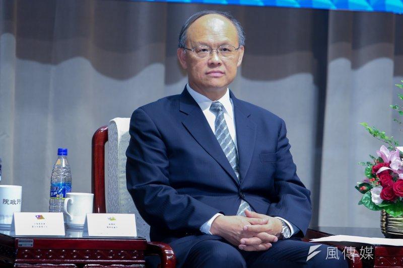 經濟部部長鄧振中表示貨貿談判會以開放工業產品換取農產品不開放,但完全不開放是不太可能。(資料照片,陳明仁攝)