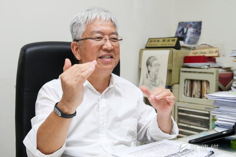 台北市前副市長張金鶚與現任副市長林欽榮槓上,兩人隔空交火。(陳明仁攝)