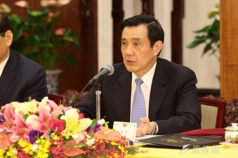 總統馬英九再度舉行記者會,報告馬習會。(顏麟宇攝)