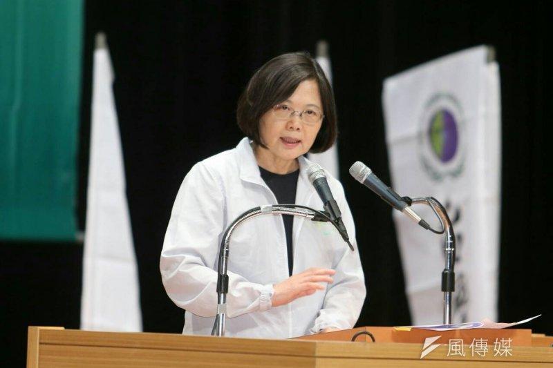 蔡英文出席台灣之友會「改變,讓台灣不一樣」(陳明仁攝)