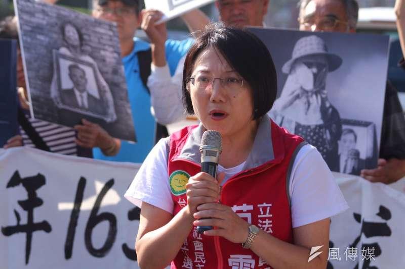 大安區立委候選人范雲6日成立競選總部,范雲表示「改變台灣,我們責無旁貸,應該站出來。」(資料照片 曾原信攝)