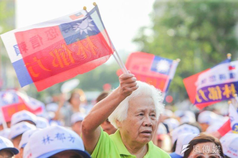 台灣人或中國人,你的身分認同是什麼?(資料照,陳明仁攝)