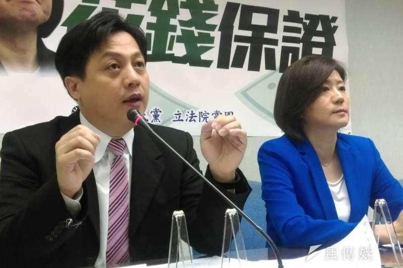 國民黨文傳會主委李明賢表示,地方民意有很多人支持罷免黃國昌,國民黨也對此表示支持。(資料照,周怡孜攝)
