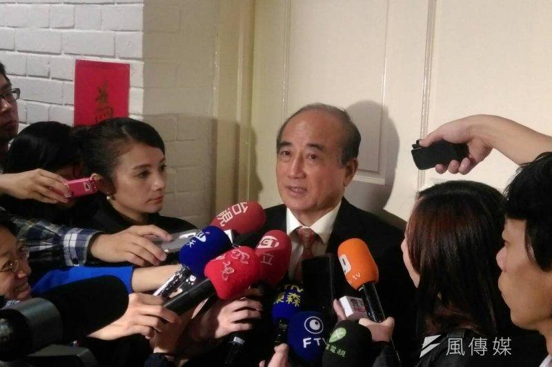 王金平今日下午再度召集朝野黨團,針對廣電三法進行協商,不過,協商1個多小時後仍宣告破局。(周怡孜攝)