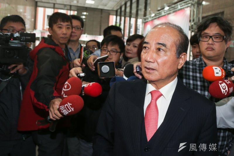 立法院長王金平就國會改革議題,請朝野黨團提案,該修法的不必拖,會期結束前就可以處理。(資料照/陳明仁攝)