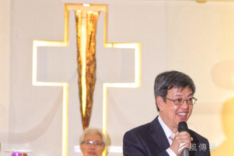 陳建仁表示,如果明年勝選,希望能為228白色恐怖受難者跟家屬,做更好安排。(資料照,曾原信攝)