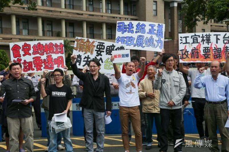 台北地方法院11日宣判,頂新正義豬油宣判正義公司與時任總經理何育仁,須連帶賠償消費者40萬5000元。(資料照,余志偉攝)