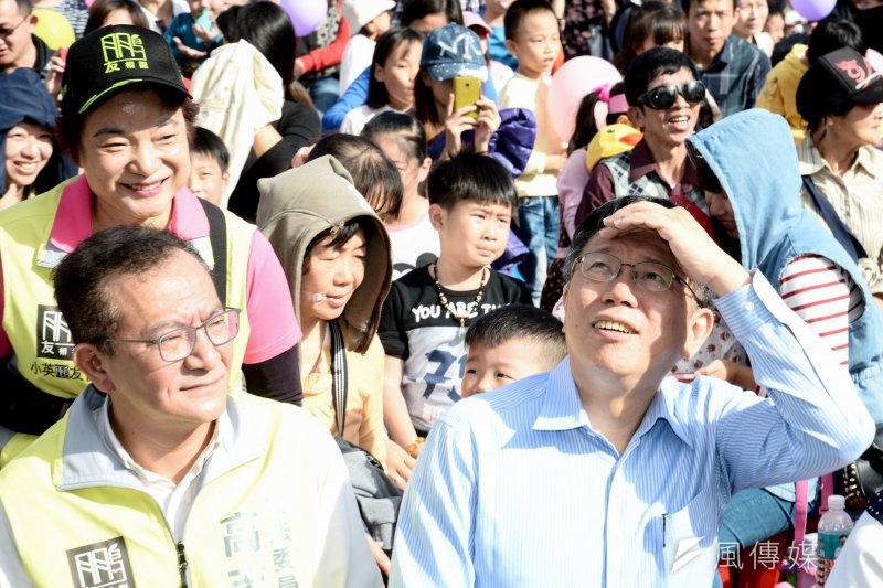 總統大選玩不出新把戲,台北市長柯文哲嫌無聊。(林俊耀攝)