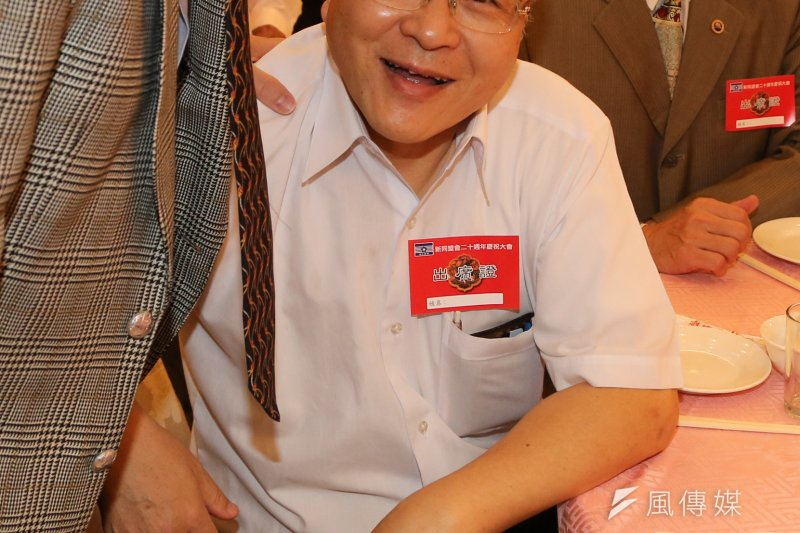 台灣省政府前外事秘書郭冠英近來屢屢談軍宅問題,再度成為公眾焦點。(余志偉攝)