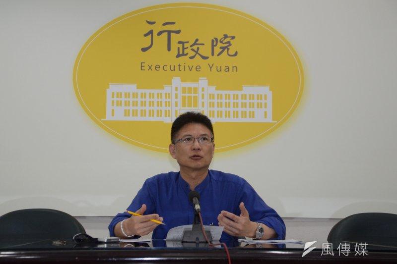 行政院發言人孫立群8日上午受訪表示,台積電12吋廠登陸,是基於國際市場競爭力的考量,與政府的國家戰略佈局應該是可以配合的。(資料照,宋小海攝)