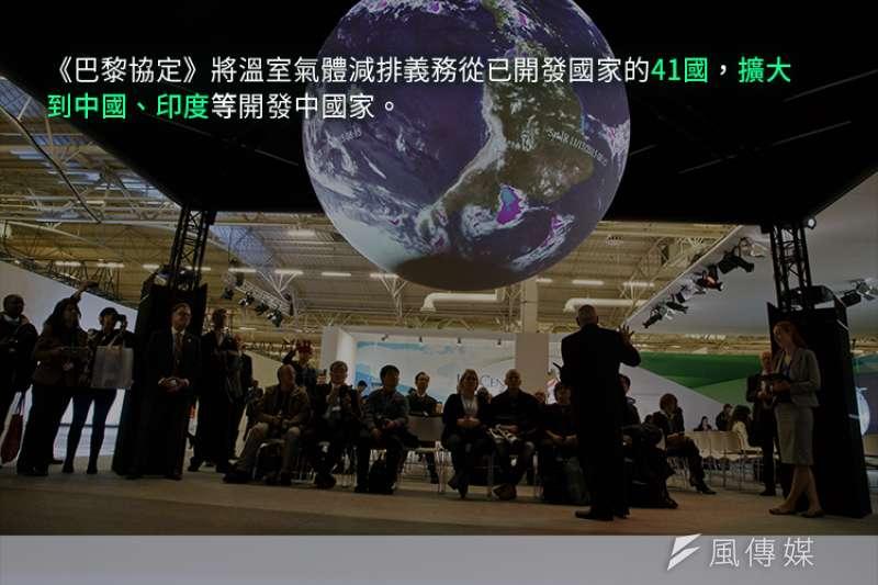 《巴黎協定》的期初檢驗報告就要來,台灣表現合格嗎?(照片:美聯社,製圖:風傳媒)