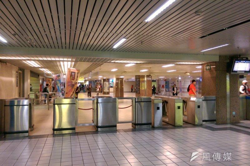 台北捷運站(風傳媒)