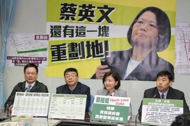 國民黨團PK小組15日砲火再起,左起蔡正元、邱毅、王育敏。(陳明仁攝)
