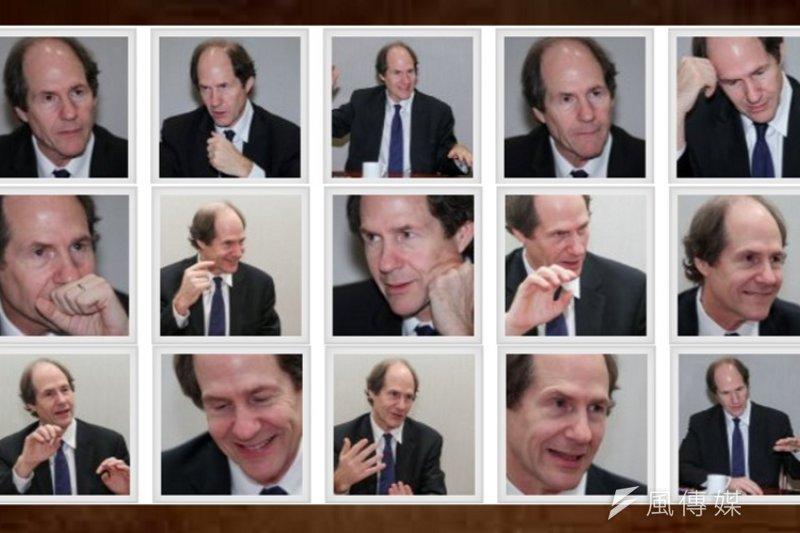Cass Sunstein的極簡主義頗有討論空間。(陳明仁攝)
