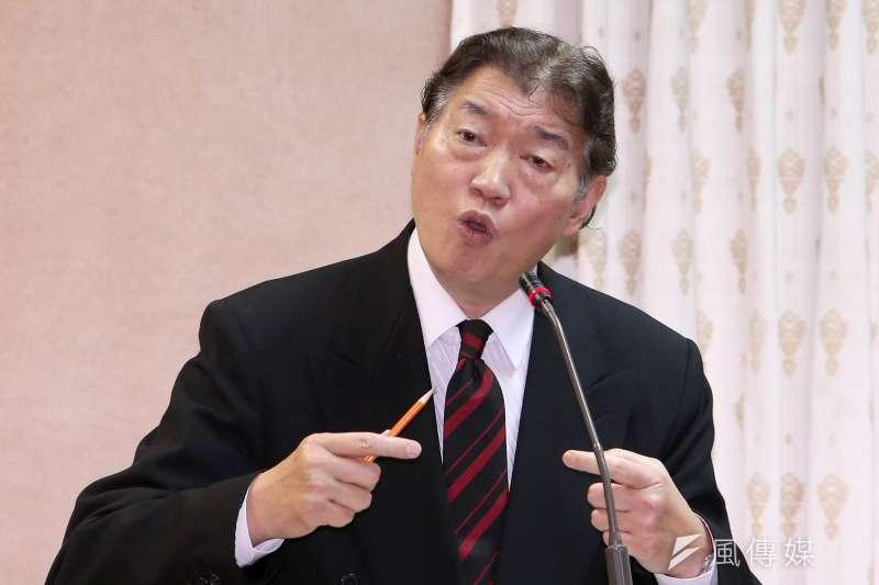 對於外傳宋楚瑜出任APEC特使遭中方打壓,沈呂巡7日指出,地主國才有權講話,大陸無權干涉台灣的人選。(資料照,吳逸驊攝)