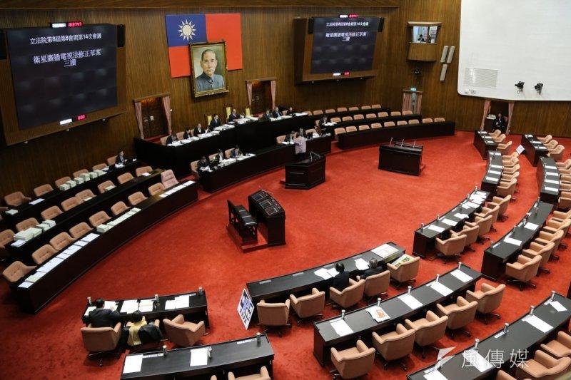 立法院18日院會,法案清倉。(陳明仁攝)