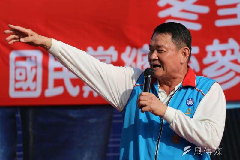 國民黨前立委蔡錦隆(見圖)痛批黨主席吳敦義和前總統馬英九對「換瑜」曖昧態度,根本就是讓敵人有「見縫插針」的機會,基層看了都討厭。(資料照,丁志寬攝)