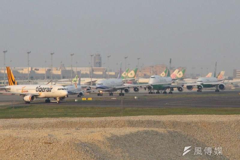 「機坪運作關係到航機準點率,尤其我們期望桃園機場成為亞太樞紐機場、轉運中心,希望更多的旅客、貨物來桃園機場轉運。需要高效率的地勤、機坪運作來配合達成。」(方炳超攝)