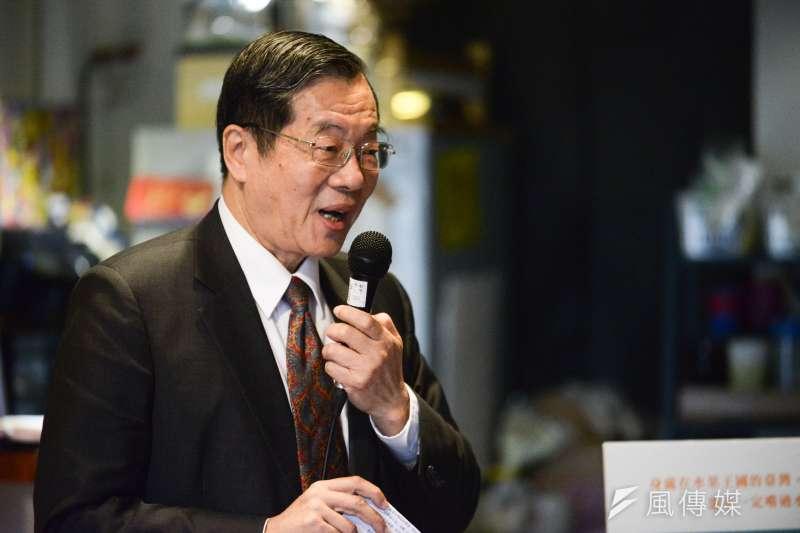 總統蔡英文提名第13屆考試院院長黃榮村(見圖)。(資料照,林俊耀攝)