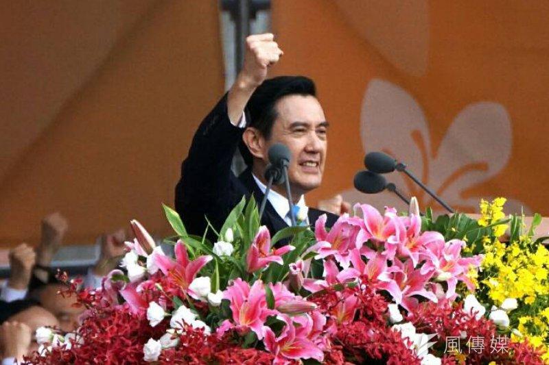總統馬英九發表任內最後一次元旦文告,以「八年興革、台灣升格」為題,回顧馬習會等8年重大政績。(資料照,蘇仲泓攝)