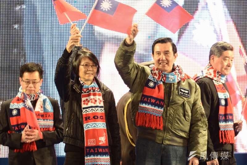 身為前總統夫人的周美青(左),節儉與低調的個性幫馬英九加了不少形象分,幾乎沒有受到批評。(資料照,林俊耀攝)