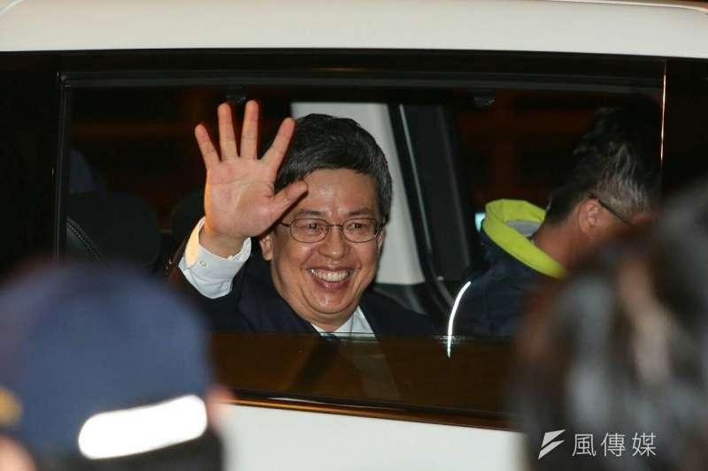20160104-副總統政見發表會,陳建仁。(顏麟宇攝)