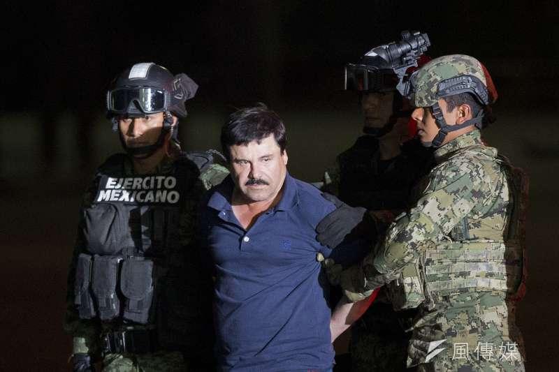 墨西哥頭號毒梟古茲曼(Joaquín Guzmán Loera)(美聯社)