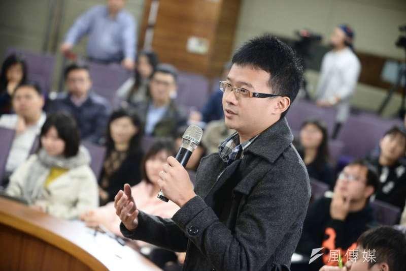 BBC中文網、風傳媒舉辦台灣大選兩岸三地青年論壇(林俊耀攝)