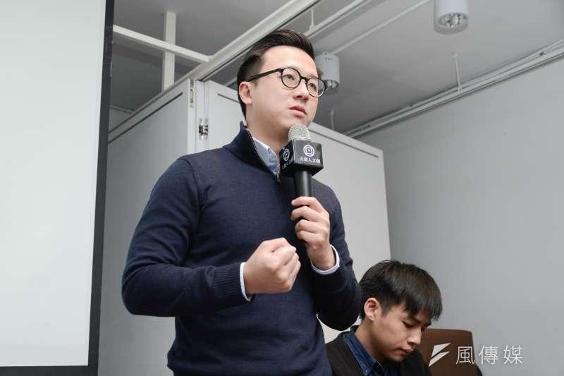 國民黨草協聯盟發起人李正皓(見圖)遭黨中央開除後,隨即在臉書發文表示,自己未來最重要的任務與目標就是下架「國瑜黨」。(資料照,林俊耀攝)