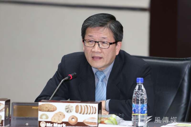 據傳華南金董座吳當傑將會在此次人事異動中下台。(資料照,陳明仁攝)
