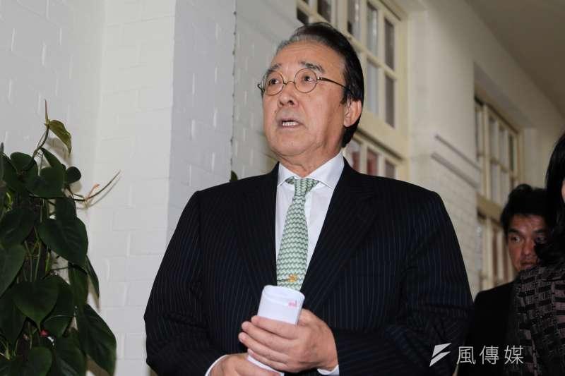 日本交協會台北事務所沼田幹夫。(資料照片,陳明仁攝)