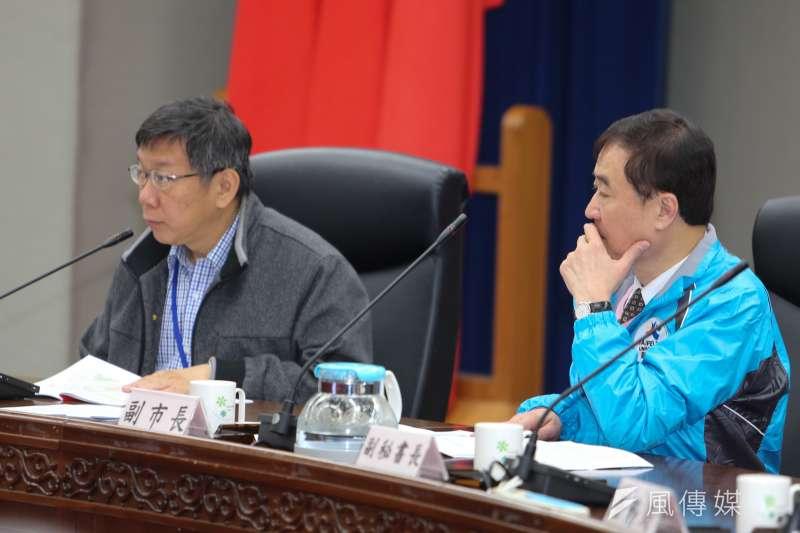 北市環保局指出,台北市市長柯文哲一口答應砸下1294萬元,要替北市35所公、私立高中職熱食部添購不銹鋼餐具。(資料照,陳明仁攝)