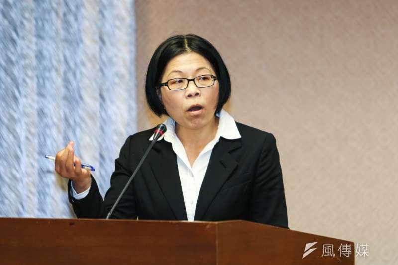 獨立記者朱淑娟批評前瞻基礎建設預算確實有很多問題。(資料照片,陳明仁攝)