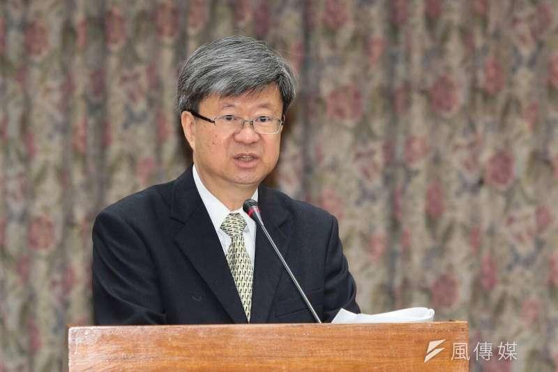 教育部長吳思華10日於立院備詢。(顏麟宇攝)