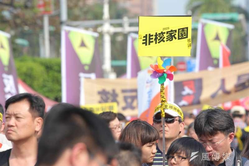 沒發生過核災事故的臺灣,有在2025年完成非核家園的必要嗎?(資料照,葉信菉攝)
