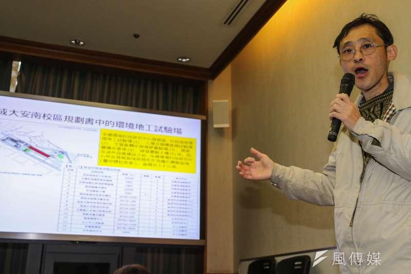 看守臺灣協會秘書長謝和霖。(資料照片,陳明仁攝)