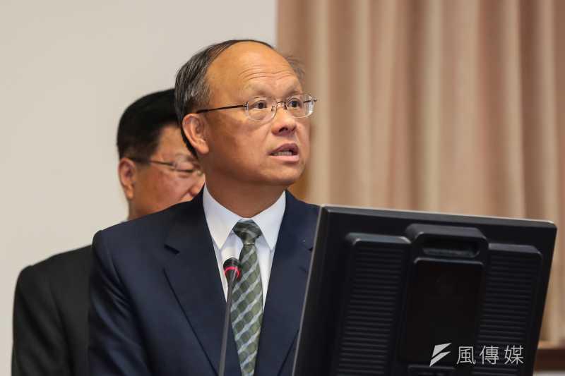 經濟部長鄧振中於行政院會報告新南向政策。(資料照片,顏麟宇攝)