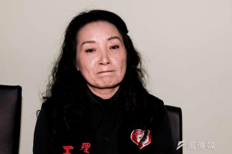 王昊姑姑、兒童權益促進協會理事長王薇君1日晚間將向最高法院聲請再審。(資料照,陳明仁攝)