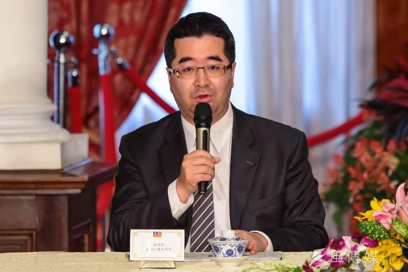 總統府前副秘書長蕭旭岑將出任新北市政府副秘書長。(資料照,顏麟宇攝)