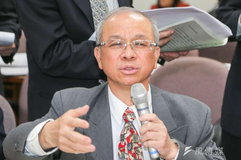 黃育徵請辭台糖董事長,政院核定陳昭義回鍋接任。(資料照片,陳明仁攝)