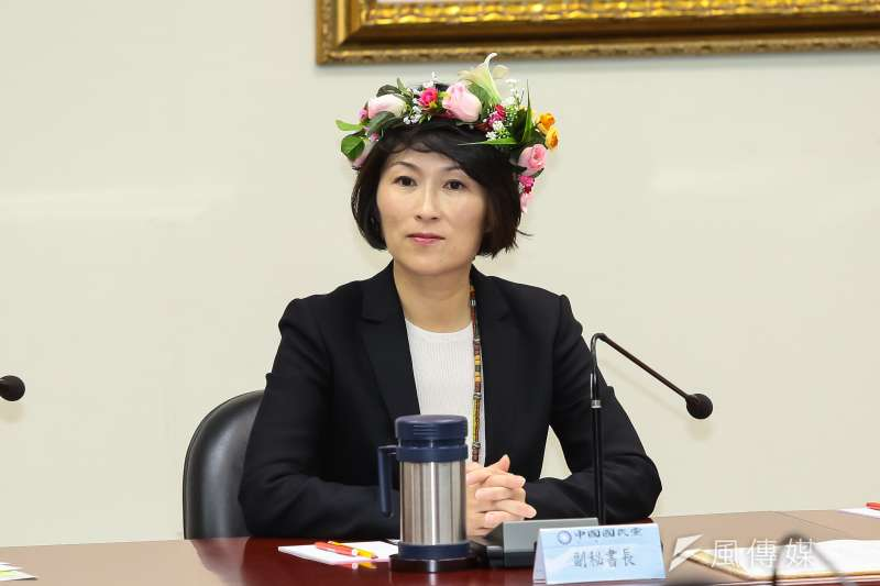 饒慶鈴確定將代表國民黨出征台東縣長選舉。(資料照,顏麟宇攝)