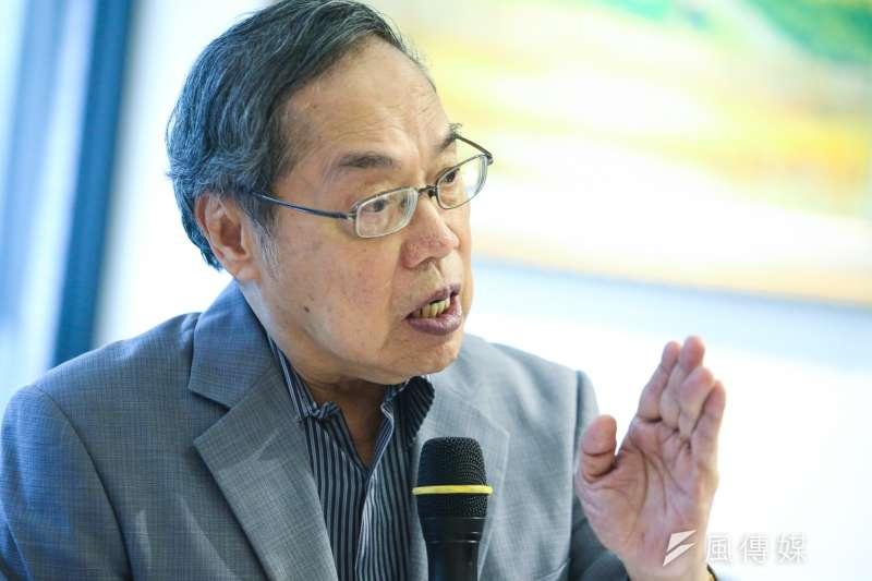 政治大學台灣文學研究所教授陳芳明批評,現在政治人物主張台灣獨立,都是在騙取選票,「聽到這樣的口號,已經耗費我一輩子了,什麼都沒有發生過。」(資料照,陳明仁攝)