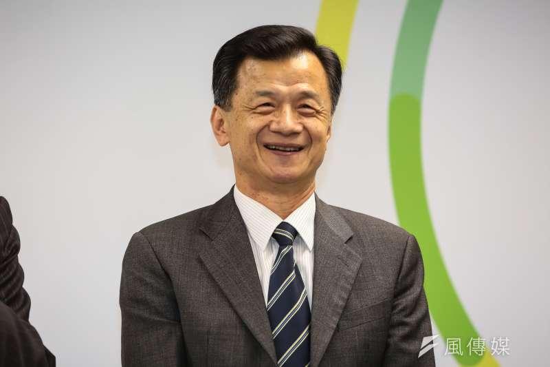 準行政院長林全召開「內閣人事公布記者會」,公布邱太三為法務部長。(顏麟宇攝)